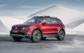 2017 Volkswagen Tiguan GTE... wallpaper