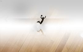 Abstract basketball 3d dunk wallpaper