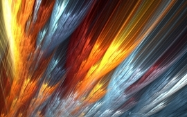 Abstract fire wallpaper