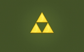 Abstract video games triforce the legend of zelda simple wallpaper