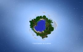 Abstract video games world earth high definition minecraft notch wallpaper