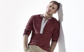 Actors chris evans white background striped clothing leaning wallpaper