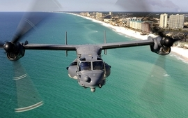 Aircraft military osprey 2 wallpaper