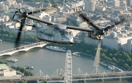 Aircraft military osprey wallpaper