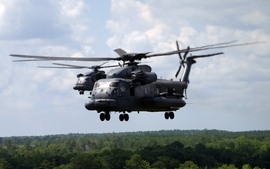 Aircrafts helicopters mh53 pave low wallpaper