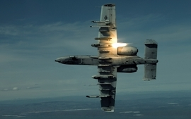 Aircrafts military airplanes flares a10 thunderbolt ii wallpaper