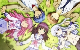 Angel beats anime manga anime girls 5 wallpaper