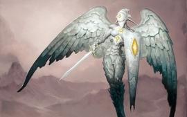 Angels magic the gathering platimun wallpaper