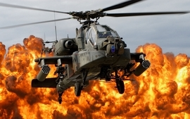 Apache helicopters wallpaper