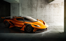 Apollo Arrow Concept Car 4K wallpaper