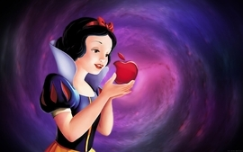 Apple inc funny snow white wallpaper
