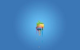 Apple inc logos 3 wallpaper