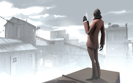 Assassins creed spy tf2 team fortress 2 wallpaper