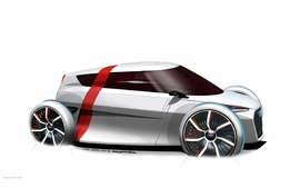 Audi urban concept art wallpaper