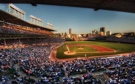 Baseball mlb stadium chicago cubs wallpaper