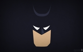 Batman minimalistic dc comics superheroes blo0p wallpaper