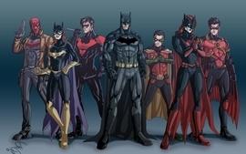 Batman robin dc comics comics suit superheroes batgirl justice wallpaper