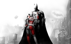 Batman video games dc comics harley quinn arkham city bad girl wallpaper