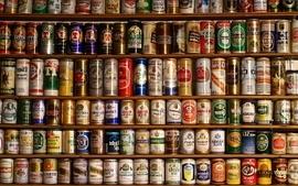 Beers water old liquid alcohol heineken courage tin poland wallpaper