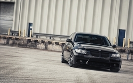 Black cars bmw 3 series 335i wallpaper
