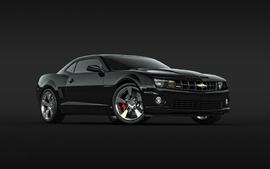 Black cars chevrolet camaro black cars wallpaper