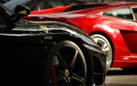 Black cars ferrari scuderia 430 wallpaper