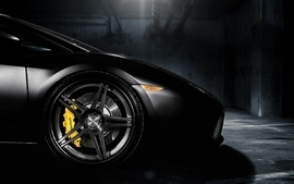 Black cars lamborghini vehicles wheels lamborghini gallardo 2 wallpaper