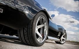 Black cars vehicles supercars tuning chevrolet corvette 360 3 wallpaper