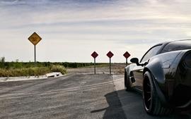 Black cars vehicles supercars tuning chevrolet corvette 360 wallpaper