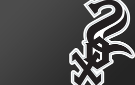 Black chicago baseball mlb logos chicago white sox wallpaper
