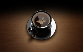 Black dark coffee brown foam tables tagnotallowedtoosubjective wallpaper