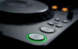 Black music studio audio techno house music cdj1000 pioneer dj wallpaper