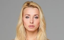Blondes women closeup eyes blue eyes faces coxy hegreart wallpaper