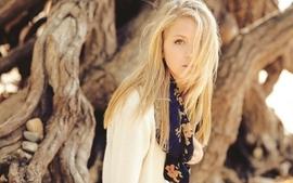 Blondes women models judith kostroski portraits wallpaper