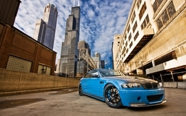 Blue bmw m3 wallpaper
