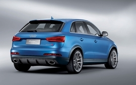 Blue cars studio audi suv blue cars german cars audi rsq3 wallpaper