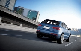 Blue cityscapes cars audi suv blue cars german cars audi rsq3 4 wallpaper