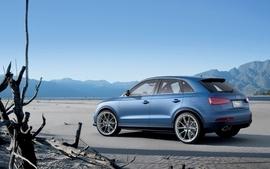 Blue mountains cars audi suv blue cars german cars audi rsq3 wallpaper