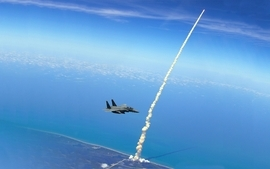 Blue outer space military nasa eagles f15 eagle jet planes wallpaper