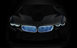 Bmw black cars photomanipulations wallpaper