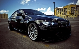 Bmw black cars wallpaper