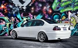 Bmw cars graffiti wallpaper