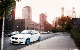 Bmw streets cars bmw m3 cities wallpaper