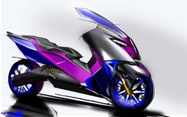 Bmw studio concept art motorbikes 2010 10 wallpaper