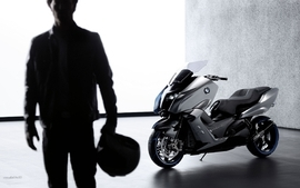 Bmw studio concept art motorbikes 2010 4 wallpaper