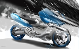 Bmw studio concept art motorbikes 2010 8 wallpaper
