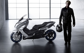 Bmw studio concept art motorbikes 2010 wallpaper