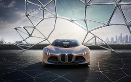 BMW Vision Next 100 Concept 4K wallpaper