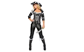 Boots blondes legs women pirates people white background leather wallpaper
