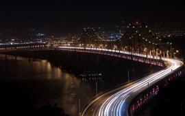 Bridges long exposure wallpaper